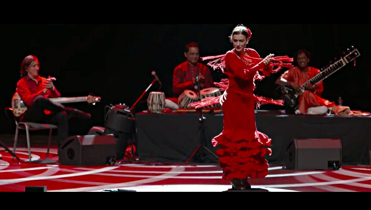 Indialucia with Flamenco Dance